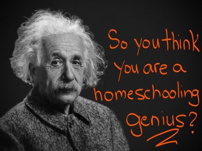 """Do You Qualify for the """"Homeschooling Parent Genius Award""""?"""