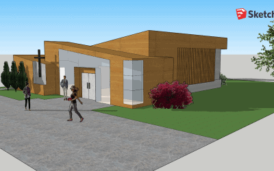 Using SketchUp in Beginning Architectural Design